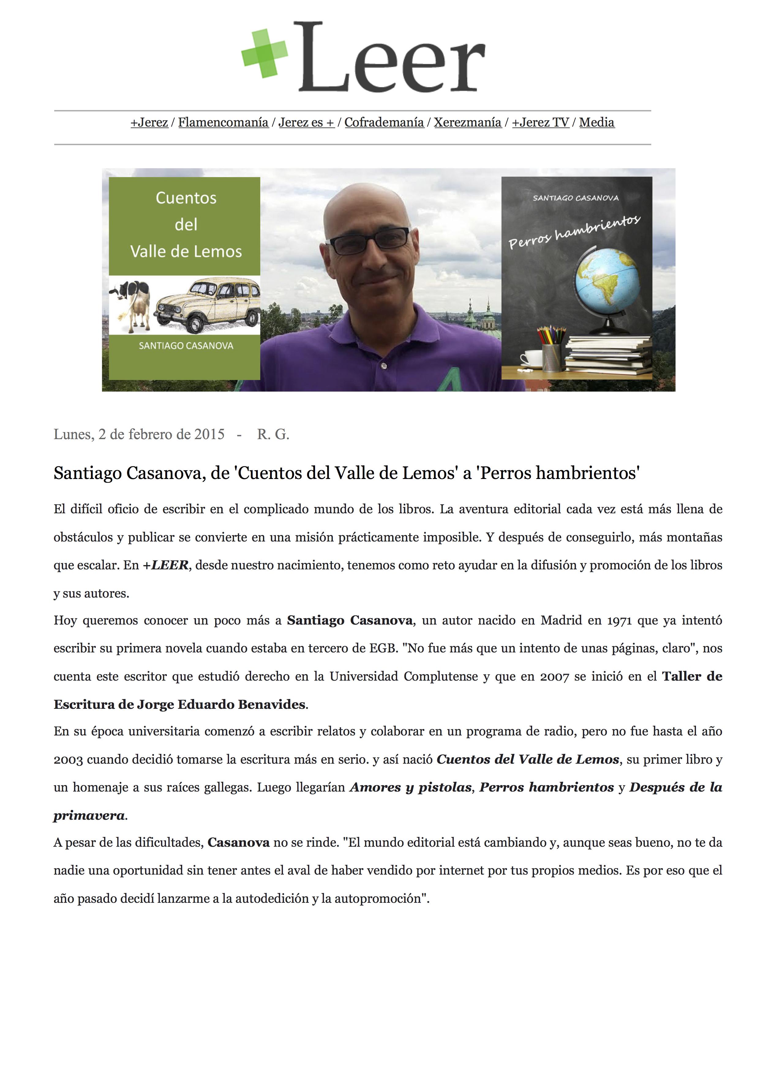Entrevista Más Jerez